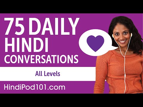 2 Hours of Daily Hindi Conversations - Hindi Practice for AL
