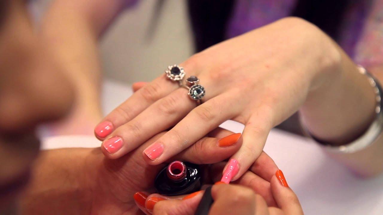 Love Beauty By Monika Mohindra: Nail and Brow Bar - YouTube
