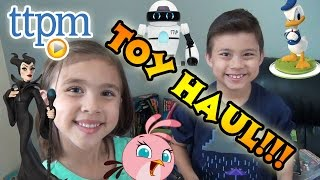 New York TOY HAUL SUPER UNBOXING! MiP, Disney Infinity, Fart Piano and more!