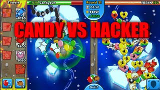 Cover images Bloons TD Battles: No Lives Lost Hack | Candys0n vs Hacker