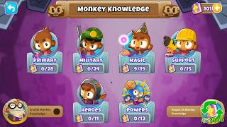 Bloons TD6 - What Happens At Level 100 - My Monkey Knowledge