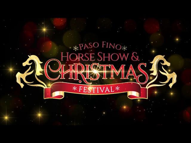 Paso Fino Horse Show and Chritsmas Festival