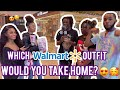 WHO WOULD YOU DATE BASED ON OUR WALMART OUTFITS? 💏👕 PUBLIC INTERVIEW