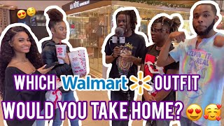Who Had The Best Walmart Drip? 👕 Public Interview