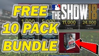 HOW TO GET A FREE 10 PACK BUNDLE JUST WITH PS PLUS | MLB 18 DIAMOND DYNASTY