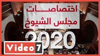 اختصاصات مجلس الشيوخ 2020.. فيديو - اليوم السابع
