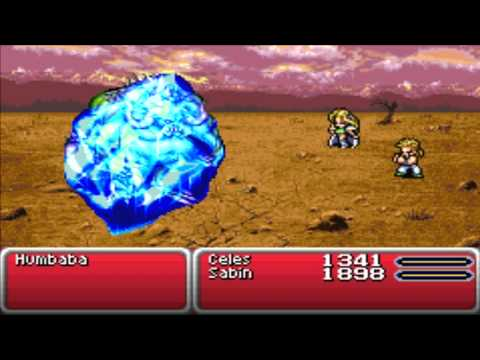 Final Fantasy 6 Advance (GBA) Part 38 Mama Terra and The Monster Humbaba in Mobliz