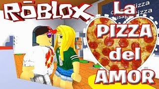 MY GIRLFRIEND VISITS THE 💙🍕 PIZZERIA ROBLOX ? TRUSH