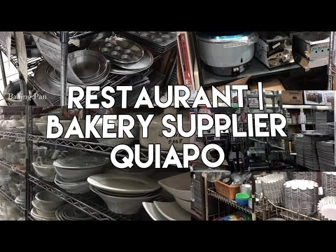 Restaurant And Bakery Tools And Equipment Supplier In Quiapo Manila