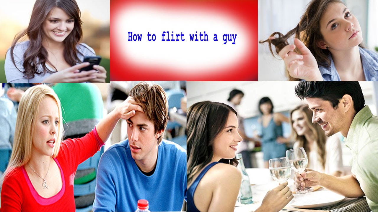 How to flirt with a guy   100% best tips - YouTube