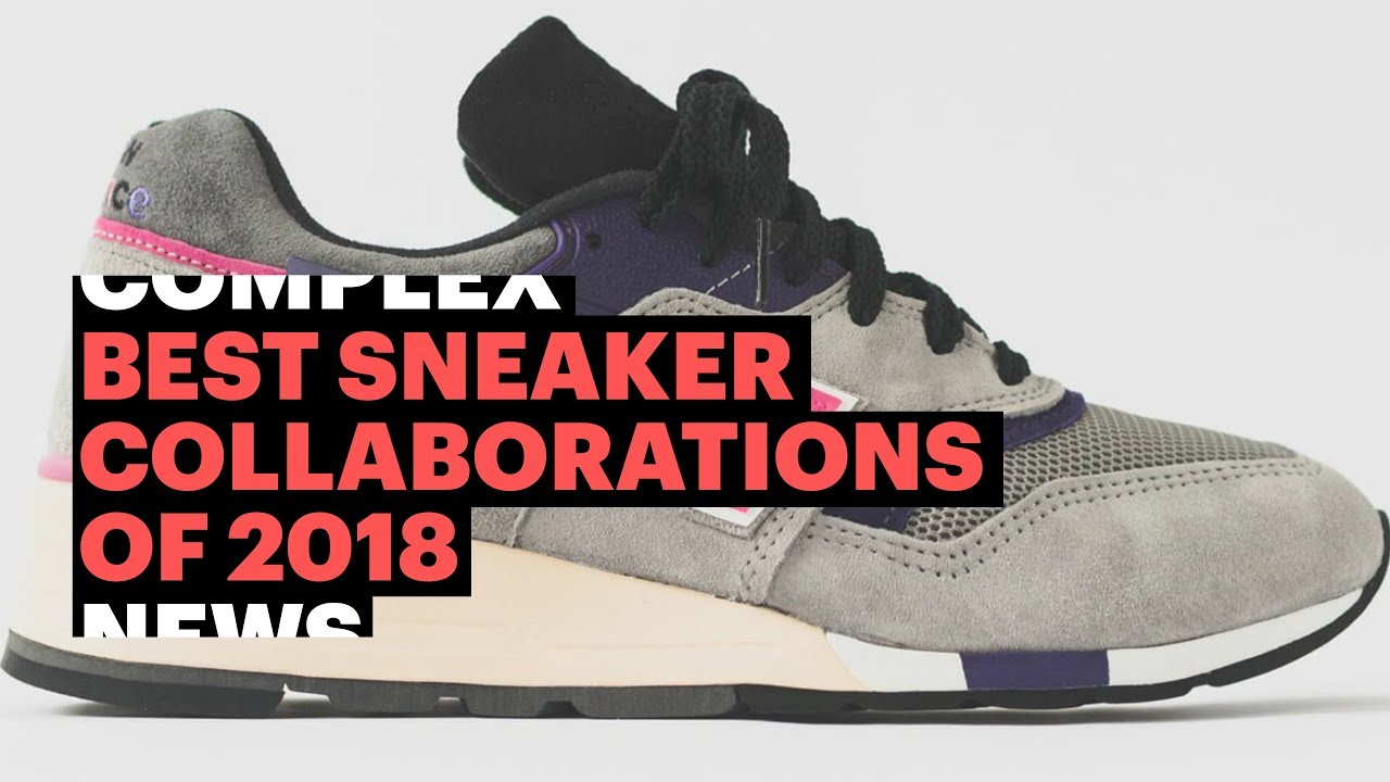 cheap unique design authorized site Best Sneaker Collabs of 2018