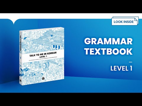 Look Inside: Talk To Me In Korean Level 1 Textbook