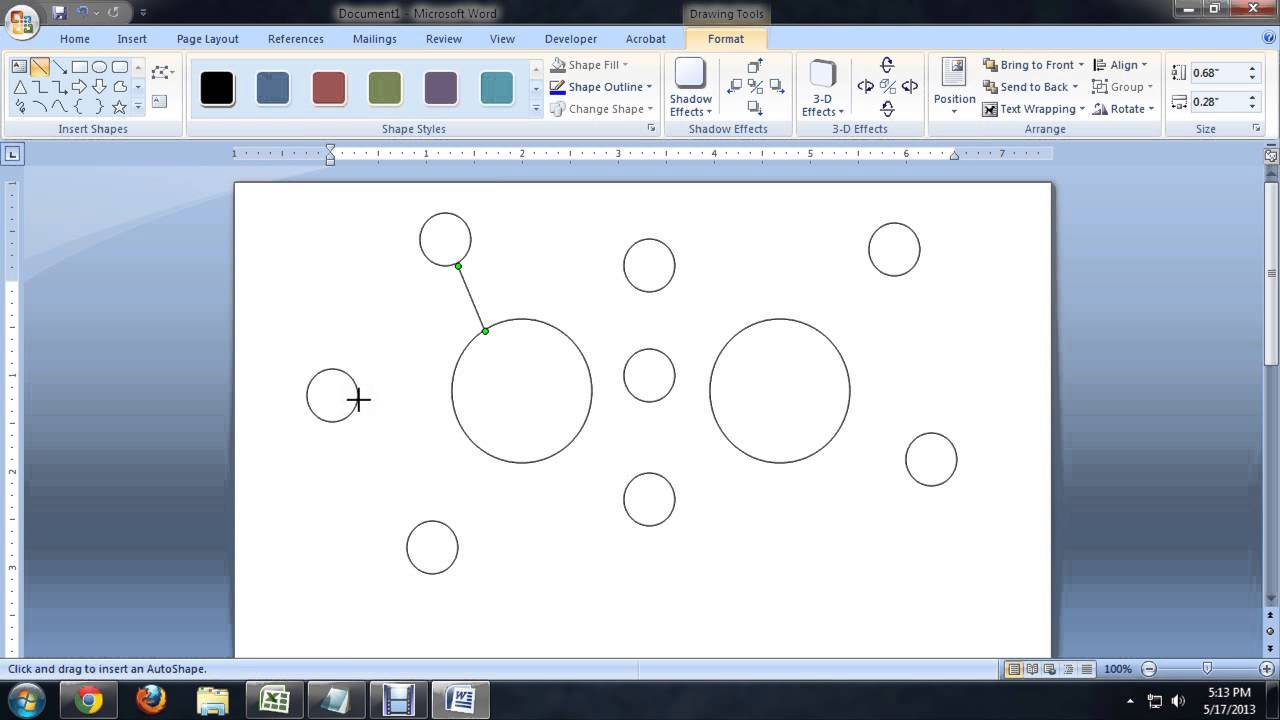 How to make a double bubble map on microsoft office tech niche how to make a double bubble map on microsoft office tech niche youtube ccuart Images