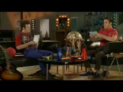 Darren Criss and Chris Colfer full   Fox Lounge 2013