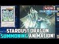[Yu-Gi-Oh! Duel Links] STARDUST DRAGON SUMMONING ANIMATION!