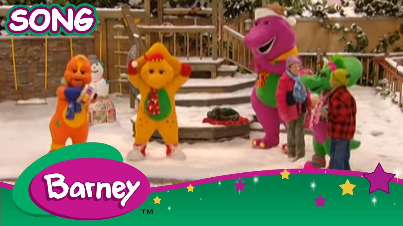Barney - We Wish you a Merry Christmas (SONG) - YouTube