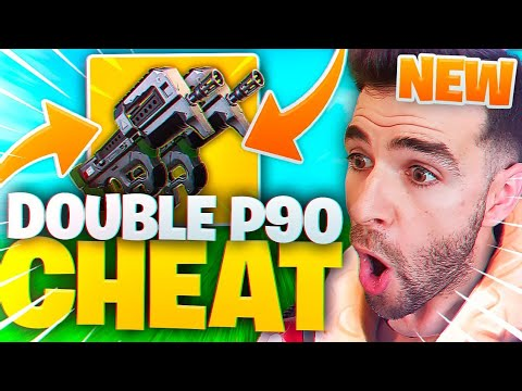 DOUBLE P90 ULTRA CHEAT 🔥 LA MEILLEURE ARME DU JEU ! ► Fortnite Saison 5 Battle Royale