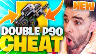 DOUBLE P90 ULTRA CHEAT 🔥 A MELHOR ARMA DE JOGO! Fortnite 5 ª temporada Battle Royale