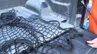 Pickup Truck Bed LoadTamer Cargo net How it Works & Installation Video