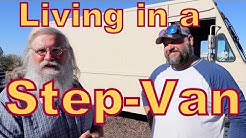 Living in a Step Van--Bread Delivery Truck