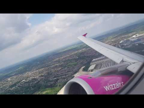 Wizz Air Take Off from Luton Luton Airport (LTN) to Košice International Airport (KSC)