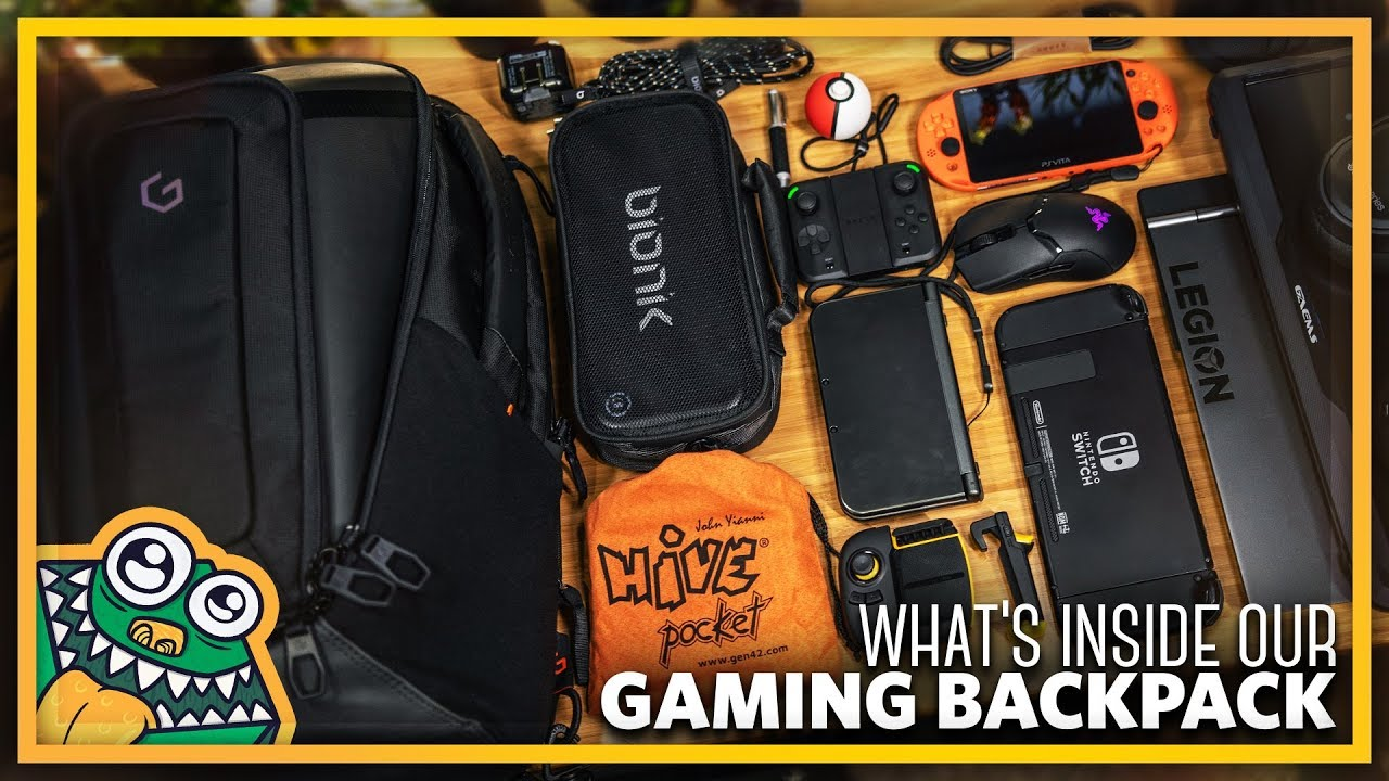 "What's in my Gaming Backpack – System G Carry+ 17"" – PACKED – List and Overview"
