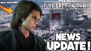 HERO UPDATE: DICE RESPONDS to INSANE Anakin Exploit, New Hero Skins & More - Star Wars Battlefront 2