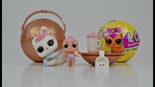 LOL Surprise Pets. Crystal Bunny from Gold Ball. ЛОЛ Питомцы. Золотой шар !