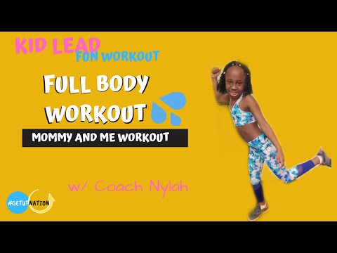 Fitness with Nylah- Kids workout