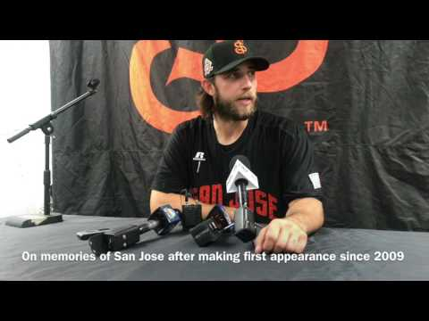 Madison Bumgarner draws huge crowd in San Jose