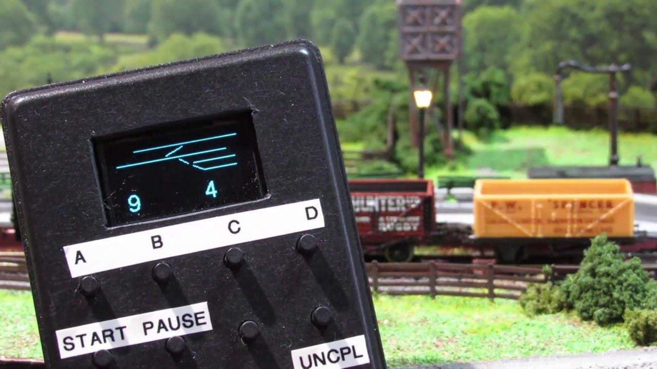 DCC++ Model Railway Remote Controller Using An ESP8266-07 WiFi Module