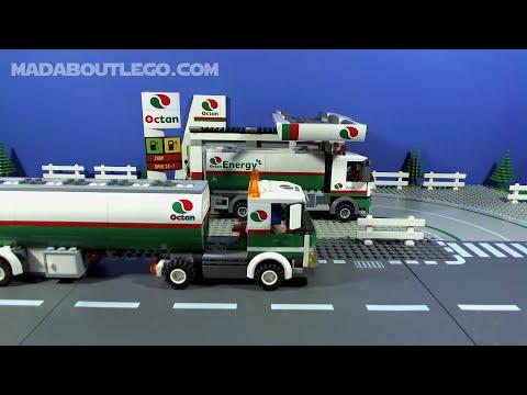 LEGO City Service Station 60132 - YouTube
