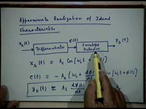 Lecture - 19 Demodulation of Angle Modulated Signals