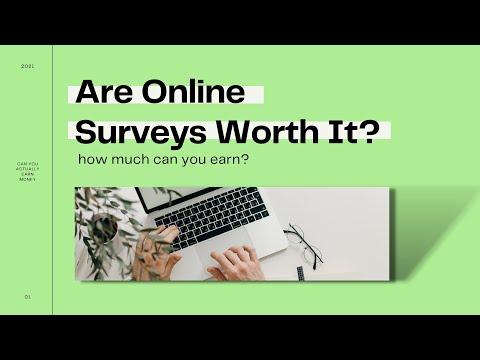 Can You Actually Earn Money Taking Surveys? | 2021