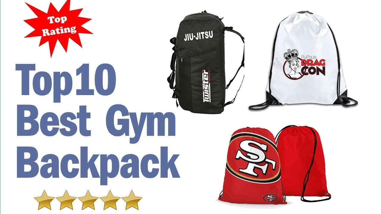 Best Gym Backpack 2019 Top 10 Best Gym Backpack Reviews Youtube