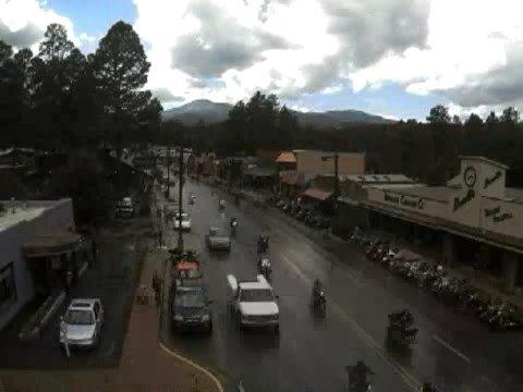 Golden Aspen Motorcycle Rally in Ruidoso, New Mexico