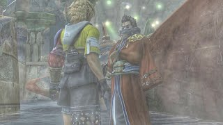 Is that a lecture? - FFX Auron and Tidus