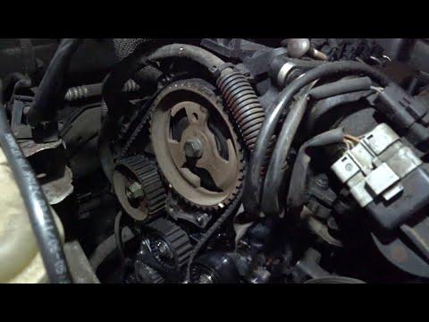Замена ремня ГРМ, помпы, роликов и ручейкового ремня Peugeot 407