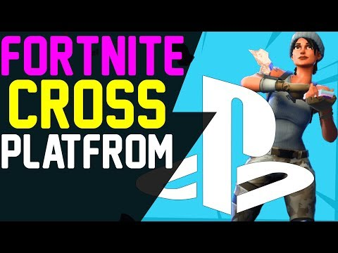 Fortnite Playstation 4 WHY YOU CAN'T PLAY CROSS PLATFORM - Fortnite Battle Royale PS4 Crossplay