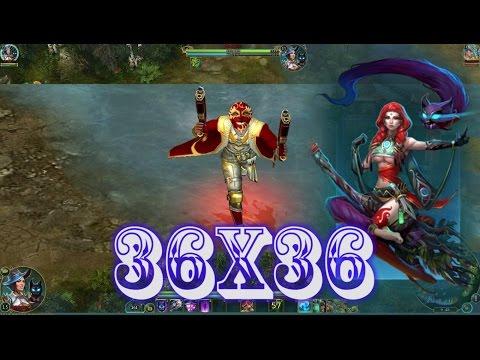 видео: Мойра (Ведьма) в разум vs Головорез в силу! 36x36 prime world