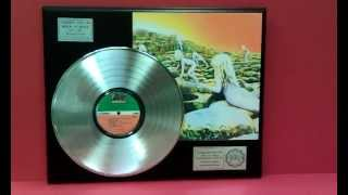 Led Zeppelin Houses of the Holy Platinum LP Record