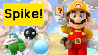 Super Mario Maker 2 Spike and Spike Ball Tips and Tricks!