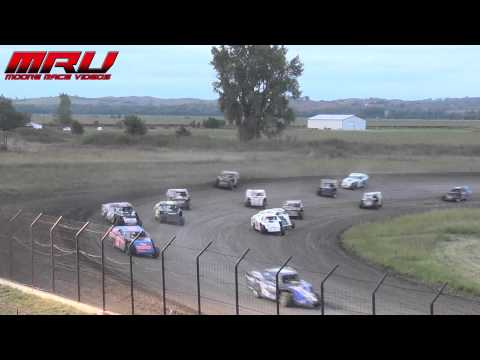 Sportmod Feature at the Iron Cup at Park Jefferson Speedway in Jefferson, SD on September 14th