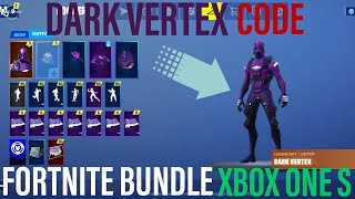 UNLOCKING THE *NEW* FORTNITE DARK VERTEX CODE BUNDLE WITH THE NEW PURPLE XBOX ONE S FUTURE GIVEAWAY