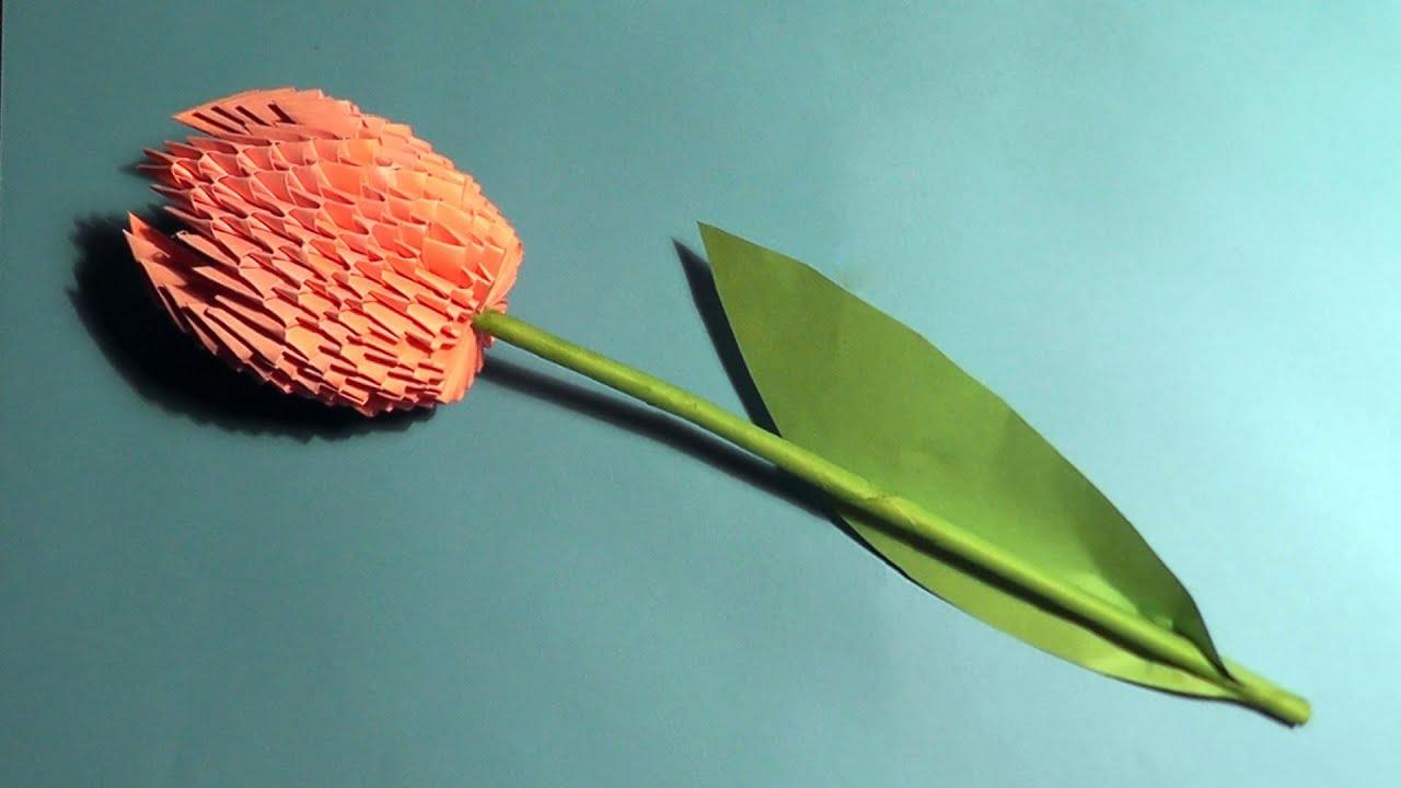схема сборки вазы для конфет оригами