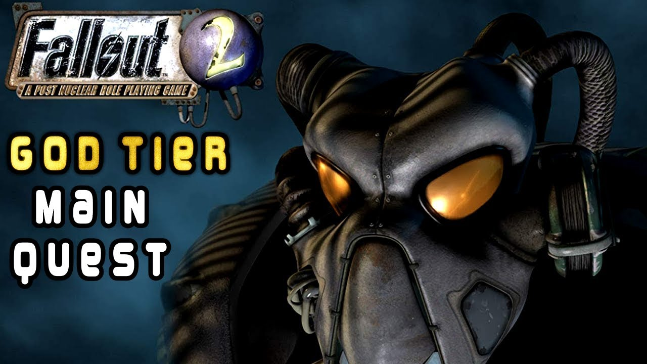 The Main Quest of Fallout 2 is God Tier thumbnail