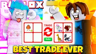 I Challenged A *NOOB* to An Adopt Me Trading Battle! LEGENDARY PETS ONLY! Roblox Adopt Me Trading
