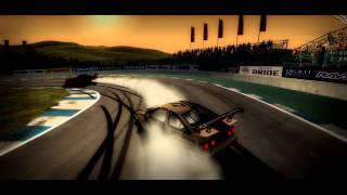 World racing 2 - drift training with Automotive gaming