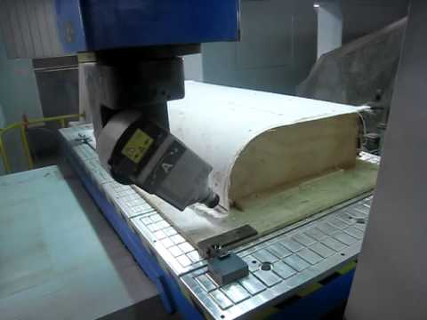 Qingdao Daron 5 axis CNC Router-Model Production