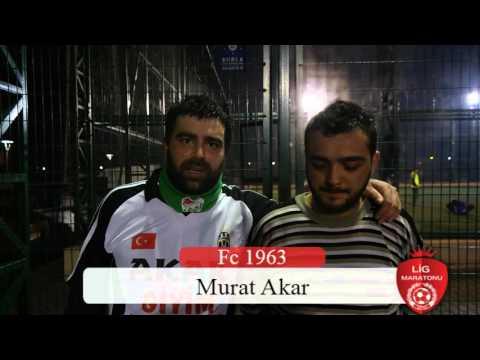 Murat Akar - Necat Arif /Lig Maratonu Bursa